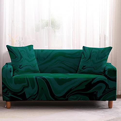 Fundas De Sofá De Color Verde Oscuro, Blanco, Púrpura, Dorado, Para Sofá Funda De Sofá Antideslizante Simple Con Todo Incluido Las Toallas Para El Sofá Se Pueden Usar En La Sala De Estar Del Hotel
