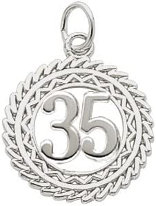Max 84% OFF Rembrandt Charms Max 71% OFF Number 35 Charm