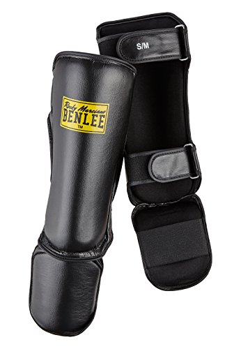 BENLEE Rocky Marciano Guardian Schienbeinschoner, Black, L/XL