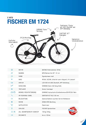 FISCHER E-Bike MOUNTAINBIKE EM 1724 29 Bild 2*