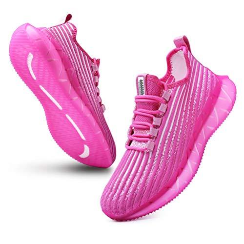 SANNAX Mujer Zapatillas Moda Zapatos para Caminar Sneakers