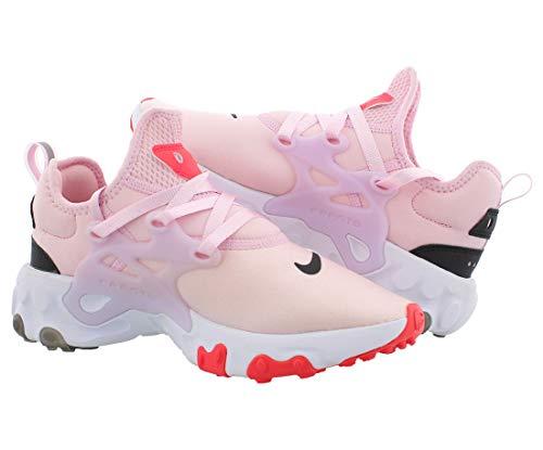 Nike React Presto Womens Shoes Size 7.5, Color: Pink Foam/Black/Red Orbit
