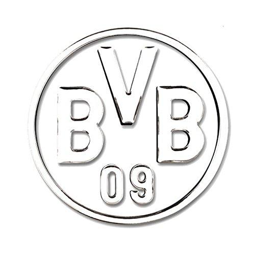 Borussia Dortmund Autoaufkleber/Aufkleber/Sticker Silber BVB 09 Plus gratis Aufkleber Forever Dortmund