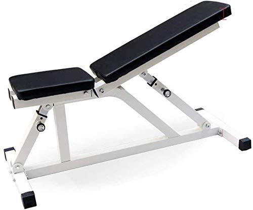 AMDIMOHB Taburete de fitness Banco de mancuernas Taburete abdominal Ajustable Dumbbell Taburete comercial Ajustable Banco Prensa Taburete Home Fitness Equipment ( Color : Black , Size : 120*43*40cm )