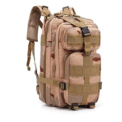 Mochila táctica militar 3P,Bolsa de ejército de camuflaje,Hombres al aire libre Camping Caza Pack Senderismo Escalada Bolsa, Hombre, San Sha, as picture