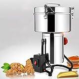 Molinillo, 4500W Máquina de molienda de harina de grano seco de harina...