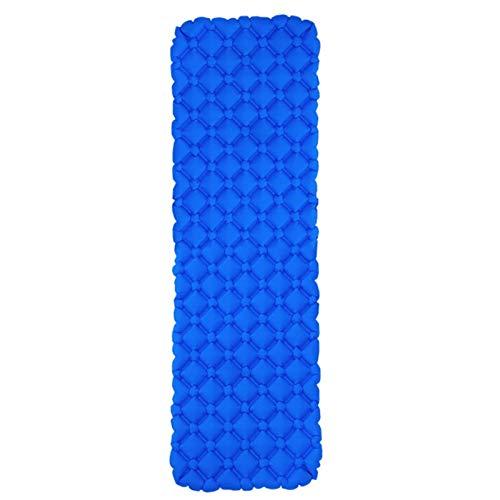 dflimited1 - Materassino da campeggio, impermeabile, per uso personale, gonfiabile, per zaino in spalla, viaggi, escursionismo, materasso ad aria, leggero, ultraleggero (blu reale)