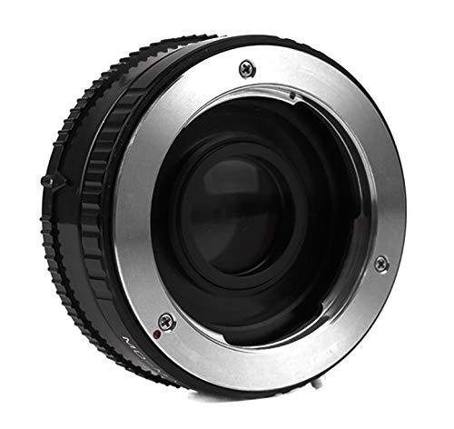 Adaptador de objetivo con lente de corrección compatible para objetivo MD-MA Minolta MD a cámara Sony