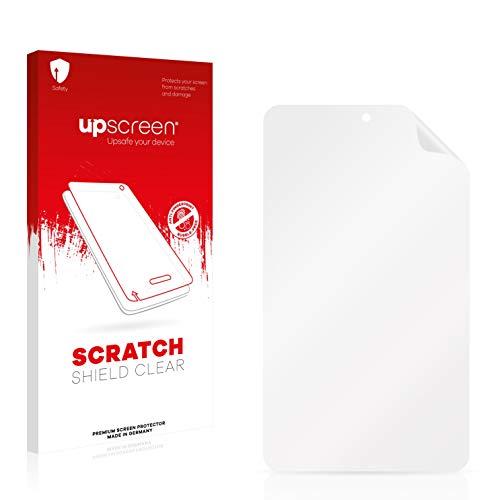 upscreen Schutzfolie kompatibel mit irulu eXpro X1S (8.1) Plastic Rear – Kristallklar, Kratzschutz, Anti-Fingerprint