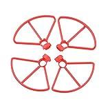 XUSUYUNCHUANG Hélices for Fimi A3 Hélice Garde Anneau de Protection Protecteur Props Lames for mi Fimi Drone RC Quadcopter Accessoires Drone Accessoires (Color : Red Props Guard)