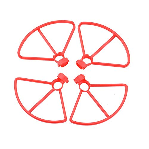 XUSUYUNCHUANG Hélices for Anillo Protector Fimi A3 Propulsor Protector Puntales Cuchillas for mi Fimi Drone RC Quadcopter Accesorios Accesorios avión no tripulado (Color : Red Props Guard)