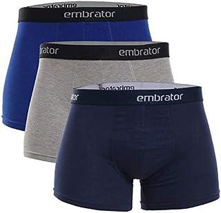 Embrator Boxer For Men Set Of (3)Navy-Grey-Blue