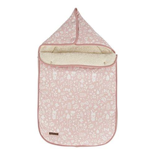 LITTLE DUTCH 6683 Fußsack für Babyschale 0+ adventure pink
