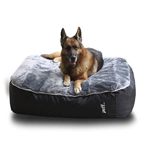 Cama Grande para Perro, cómoda y Resistente; con Funda Desmontable y Lavable en casa - Pet Puff Grande...