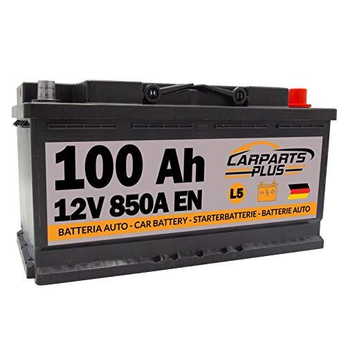 CARPARTS PLUS L5CARPARTS Batteria 100ah 850A 12V Polo DX