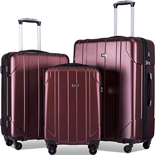 Merax 3 Pcs Luggage Set