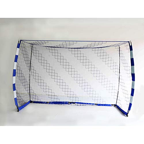POWERSHOT Handballtor QuickFire Aufbau in 2min - wetterfest - faltbar - 2 Verschiedene Größen wählbar (2,4 x 1,7m)