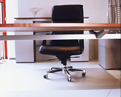Floordirekt ECO V Bodenschutzmatte - 116x200cm - für Hartböden (Parkett, Laminat, etc.)