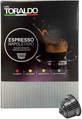 Caffe' Toraldo - Capsule Compatibili Dolce Gusto Miscela Classica (100)