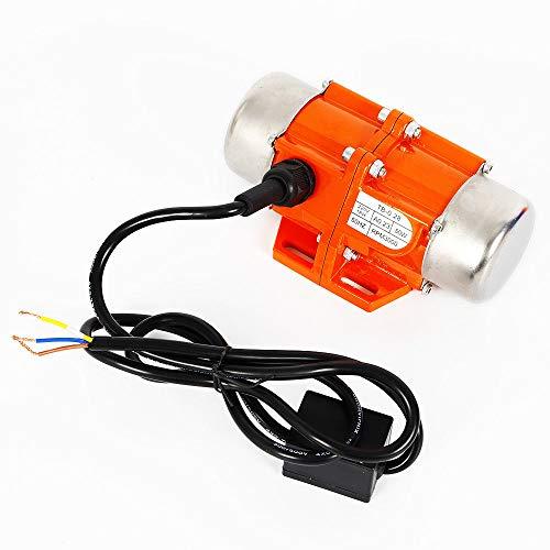 MOMOJA Motor de vibración Asynchronous 40W / 50W / 100W 3000 RPM 220V para Aplicación en Minería, Metalurgia, Carbón (1 Fase 50W)