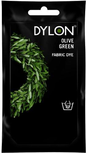 Dylon tintura per lavaggio a mano verde oliva 50g