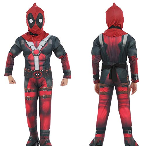NDHSH Deadpool niño Cosplay Disfraces Disfraz de Halloween Traje ...