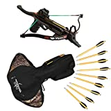 Southland Archery Supply PSE Viper SS Handheld Pistol Crossbow Package with Bag and Extra Arrows (Pistol with Bag and Extra Arrows)