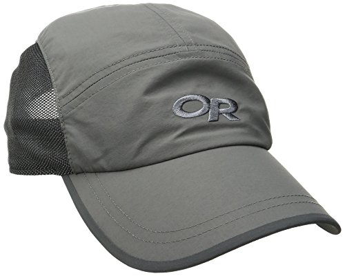 Outdoor Research Swift Cap - Ultimate Training Breathable Sun Hat Pewter/Dark Grey