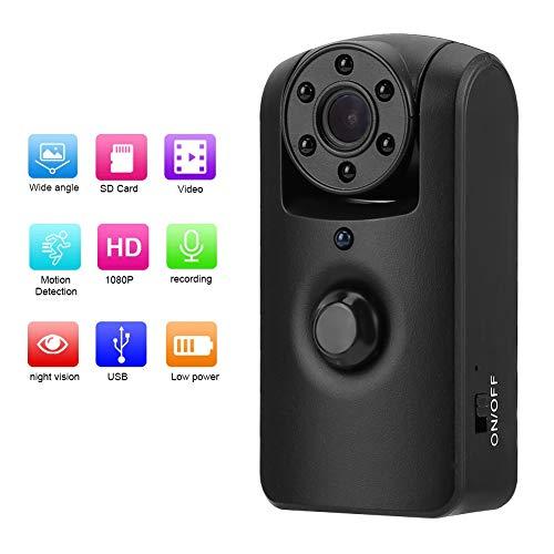 Mini bewakingscamera 1080P IR Lange stand-by 180 ° videorecorder Micro Surveillance Small Cam voor thuiskantoor