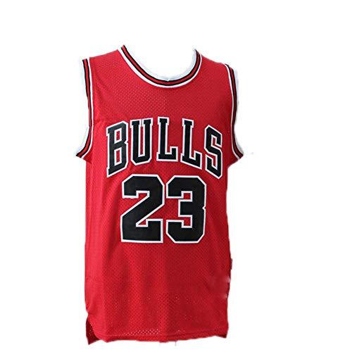 Michael Jordan Jersey, heren NBA Michael Jordan #23 Chicago Bulls Basketbal Jersey Retro Gym Vest Sport Top