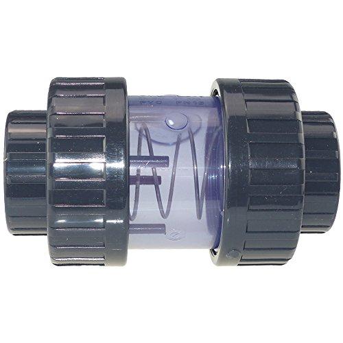 Plimat PVC Rückschlagventil transparent 50 mm