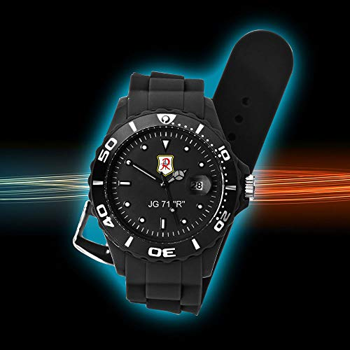 IMC JG 71 Uhr Silco - Armbanduhr Sonderedition Motiv Geschenk Herren Männer Uhr