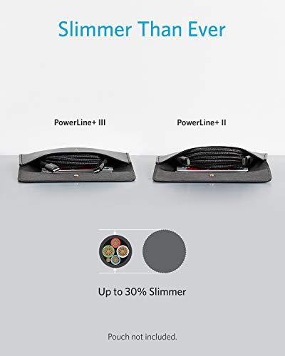 Anker Powerline+ III USB-C auf Lightning Ladekabel,180cm lang,Lightning Kabel mit MFi Zertifizierung,für iPhone SE/11/11 Pro/11 Pro Max/X/XS/XR/XS Max/8/8 Plus/AirPods Pro, unterstützt Power Delivery