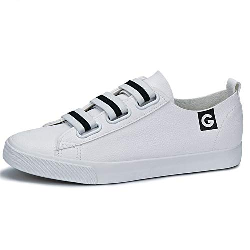 Pisos de Las Mujeres Zapatillas de Deporte de Las señoras Zapatos de Cuero Suave Mujer Primavera Autunm Resbalón en los Zapatos Respirables Mujeres Zapatos causales
