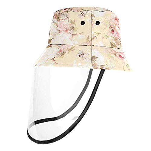 henghenghaha Rosa und Hummel Kinder Jungen Mädchen Sonnenhut UV Sonnenschutz Hüte Atmungsaktiv Sommer Spielhut