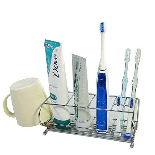 『電動歯ブラシスタンド 18-8ステンレス製 日本製』の1枚目の画像