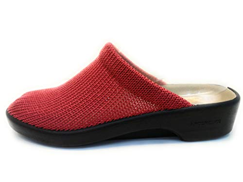 ARCOPEDICO, Mules pour Femme - Rouge - Rosso, 37 EU