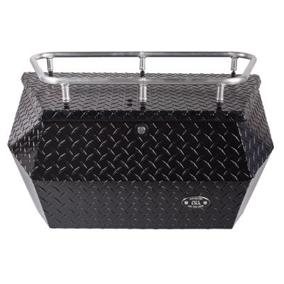 Best Bargain Ryfab Aluminum Cargo Box with Top Rack Black for Arctic Cat WILDCAT X 1000 Limited 2016...