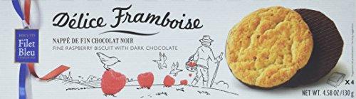 Filet Bleu Délice Framboise Chocolat Noir, 12er Pack (12 x 130 g)
