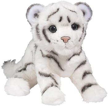 Douglas Silky White Tiger Cub Plush Stuffed Animal