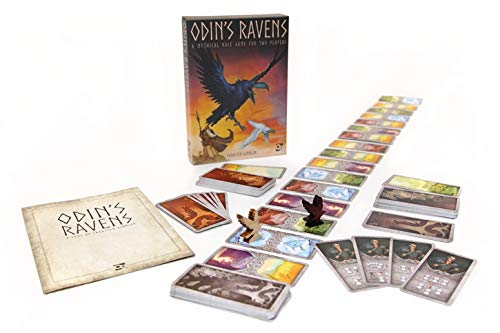 Odin's Ravens (Osprey Games): A mythical race game for 2 players