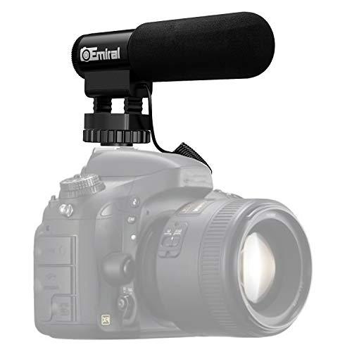 Kamera Mikrofon Emiral Interview Mikrofon Shotgun Video Mikrofon fur DSLR KameraDV Camcorder
