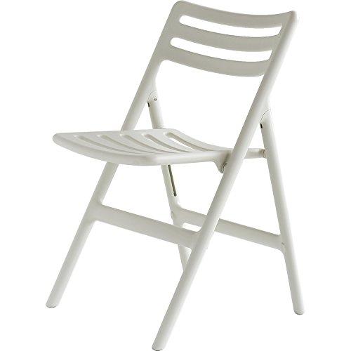 MAGIS マジス Folding Air-Chair フォールディング エアチェア(アームなし)/ホワイト SD75-1730C