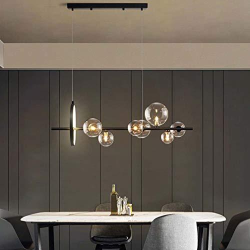 LED moderna lámpara pendiente G4 y lámpara LED bola de cristal lámpara...
