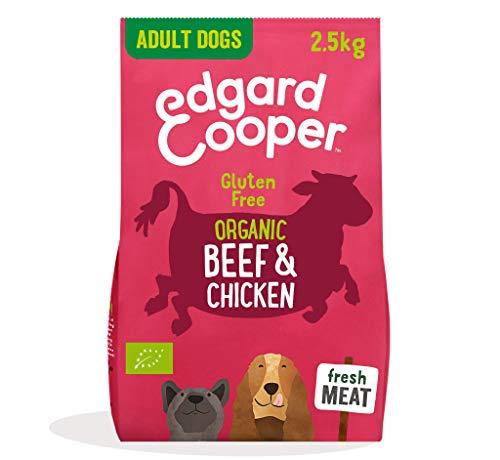 Edgard & Cooper pienso para Perros Adultos sin Gluten, Natural con tenera y Pollo de Corral ecológicos, 2.5kg. Comida balanceada sin harinas de Carne ni Carnes sobreprocesadas, cocinado a Fuego Lento