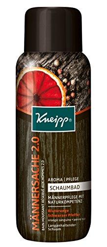 Kneipp Aroma Pflegeschaumbad Männersache 2.0, 3er Pack (3 x 400 ml)