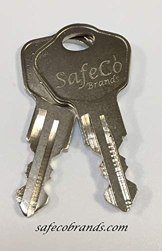 Sentry Safe Keys CUT To Codes 3A2 3B2 3C2 3D2 3E2 3F2 3G2 3H2 3J2 3K2 Please Match Your Letter Before Paying Model 1100 (KEYS 3F2)