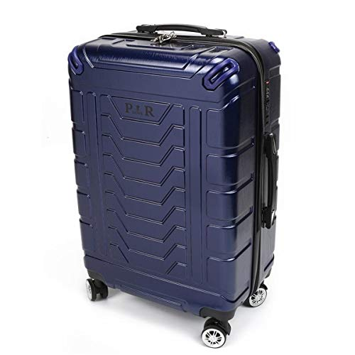 XIANGSHAN Equipaje de Viaje Maleta con Ruedas Maleta con Ruedas de diseño Conveniente con Bloqueo de contraseña Azul de 20 Pulgadas