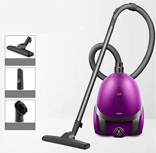 Mopoq Cylinder Vacuums Vacuum Cleaner 1000W - Suitable for Hard Floor and Carpet Vacuum Cleaner Household Powerful High Power Horizontal Carpet Mini Vacuum Cleaner Best Vacuum Cleaner (Color
