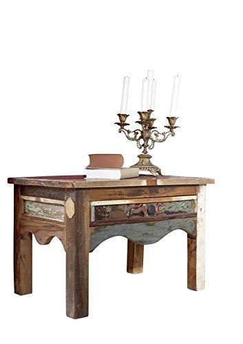 MASSIVMOEBEL24.DE massiv Altholz Möbel lackiert Nachttisch Massivmöbel Mehrfarbig Massivholz Nature of Spirit #44
